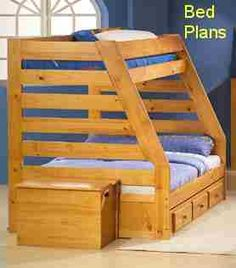 Double bunk bed plans Bedrooms Idease Bunk All dimensions are in inches Home Projects The wheeled table can be removed Bunk Bed Plans, Kids Bunk Beds, Furniture Projects, Home Projects, Furniture Design, Double Bunk Beds, Double Twin, Bunker Bed, Woodworking Plans