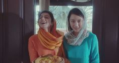 Everyone's getting all warm and fuzzy about this ad for apparently bridging a racial divide - using biryani - but many Pakistani women are also questioning whether it's quite so positive about their gender roles.