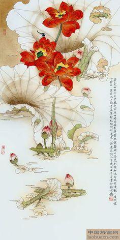 毕竟西湖六月中 - 烙画素材大全-中国烙画网