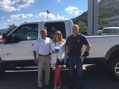 George Russell and the rest of the Turnpike Ford Family wish to thank David Vanlinde for his business 😉👍