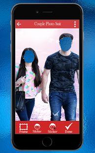 Couple Photo Suit: miniatura da captura de tela