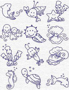 12sea. Embroidery Designs