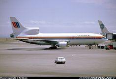 United L-1011, at San Francisco, 1987.