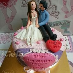 Anniversary cake  Creation by Ching Pranata 081280253023 Jkt and Tgrg only