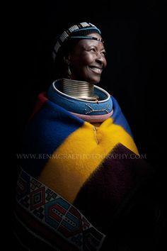 "Africa | ""Ndebele Smile"" | ©Ben McRae"