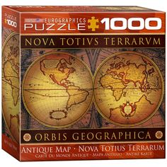 Old world map jigsaw puzzle puzzle 1000 antique map 1000 piece jigsaw puzzle gumiabroncs Gallery