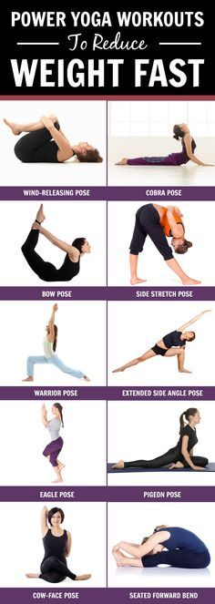 Yoga : Yoga is of many kinds & one such power yoga is considered to be great ways in losing weight.