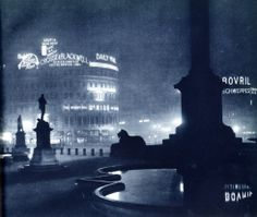 "Signs of their times: photogravures of ""London Night"" by Harold Burdekin"
