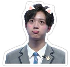 """lai guan lin "" Stickers by peachlord Guan Lin, Lai Guanlin, Kpop, 3 In One, Always And Forever, Boyfriend Material, Hd Photos, First Time, Stickers"