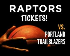 $44 and Up for a Ticket to the Toronto Raptors vs. Portland Trailblazers on March 15, 2015 at the ACC Portland Trailblazers, Toronto Raptors, Ticket, March, Sports, Sport, Mars