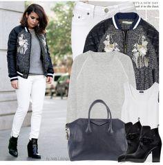 """Street Style Fashion Blogger:Vintage Collage!"" by anitalolonga on Polyvore"