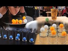6 Creative Party Games With Ping Pong Balls (Minute to Win It) - YouTube