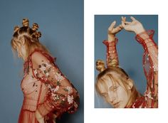Silk Motyl for Nasty Magazine.  Photographed by Michele Yong