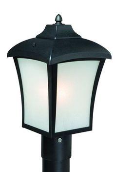 Vaxcel Lighting T0003 Boardwalk 1 Light Outdoor Post Light Oil Rubbed Bronze Outdoor Lighting Post Lights Post Lights