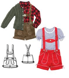 You have no idea how hard it is for me to resist making Adrian lederhosen! Oktoberfest Outfit, Boy Doll Clothes, Diy Clothes, Sewing Patterns For Kids, Sewing For Kids, European Costumes, Little Mermaid Costumes, German Costume, German Outfit