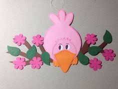 Fensterbild ★ Vogel auf Ast ★ Frühling ★ Sommer ★ Tonkarton/Tonpapier ★ rosa in Möbel & Wohnen, Hobby & Künstlerbedarf, Basteln | eBay