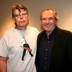 Stephen King and Wes Craven