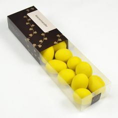 Wienermandler - gule i æske