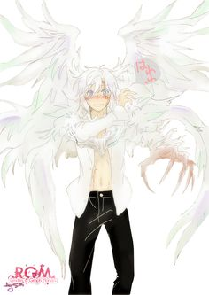 Render D Gray Man - Renders D Gray Man Allen Walker clown crown innocence boy cheveux