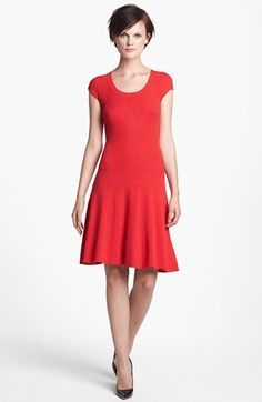 MARC BY MARC JACOBS 'Wanda' A-Line Sweater Dress available at #Nordstrom