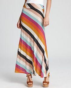 ALTERNATIVE Skirt - Seneca Striped Maxi | Bloomingdale's