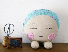 Plush Creature  Quirky Twinkle by CookieCutterEtsy on Etsy, $56.00