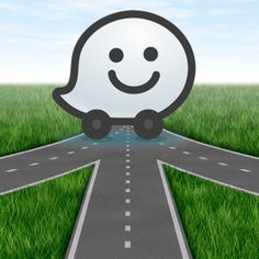 I love WAZE-makes driving to unfamiliar destinations so much easier. especially with the voice instructions.