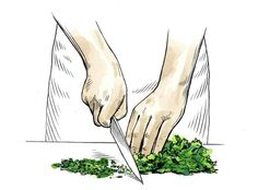 How to Clean, Store, and Chop Fresh Herbs photo