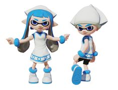 I love squid girl and splatoon so this is perfect