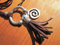 brown tassel by de la macorra pati on Etsy