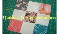 """SCROLL DOWN & FIND the WORDS """"Next Page"""" to See the 1st Video with 10 Quilt Piecing Tips New Quilters Invent New Ways. Experienced Quilters Use the Fun Ways that work. EXPERIENCE Quilters learn New Creative Approaches from New Quilters because, NEW Quilters Invent Things based on what they Don't know. The tips or techniques …"""
