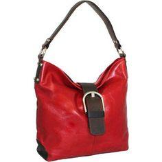 163a647076b9 Women s Nino Bossi Buckle Up Hobo Shoulder Bag - Red Hobo Handbags Hobo  Handbags