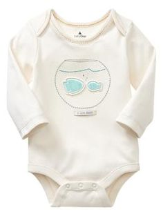 Mommy and daddy fish bodysuit | Gap...need this