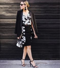 Amelia of The CHICago Life is #soDVF in the DVF Jojo floral embroidered mesh crop top and Hillaria floral embroidered pencil skirt. Shop the Jojo top: http://on.dvf.com/1SlJGEk Shop the Hillaria skirt: http://on.dvf.com/1SlJUv6