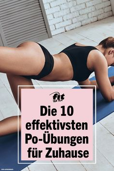 ▷ Die 10 effektivsten Po-Übungen für Zuhause Fancy a punch? Regular butt training not only strengthens the rear muscle group and thus ensures a shapely back. The upper part of the hips and a nar Fitness Workouts, Butt Workout, Yoga Fitness, At Home Workouts, Fitness Motivation, Health Fitness, Muscle Fitness, King Fitness, 30 Min Workout