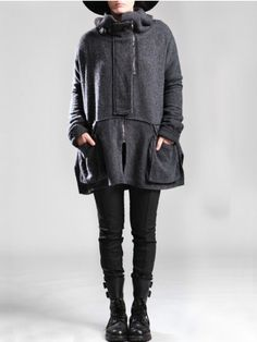 WOOL-POLYESTER COAT WITH FLEECE LINING - JACKETS, JUMPSUITS, DRESSES, TROUSERS, SKIRTS, JERSEY, KNITWEAR, ACCESORIES - Woman -