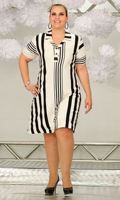 Vestido Plus Size 98 Vestidos Plus Size, Plus Size Dresses, Plus Size Outfits, Dresses For Work, Summer Dresses, African Fashion Dresses, African Dress, Fashion Outfits, Dress Fashion