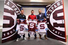 HC Sparta Praha 2015/16 jersey Hockey Sweater, Ice Hockey, Sports, Sweaters, Hs Sports, Sweater, Sport, Hockey Puck, Sweatshirts