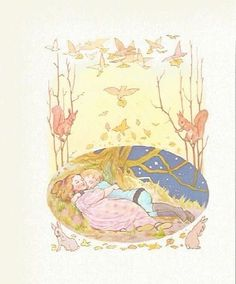 A reproduction of an illustration by artist Margaret Tarrant extracted from the book: Nursery Rhymes and Fairy Tales. Margaret Tarrant. Margaret Tarrant Colour Print from Nursery Rhymes & Fairy Tales. | eBay!