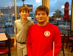 Picture taken October 2015.  The last breakfast we had with Tanner at Chick-fil-A in Des Peres, MO.
