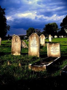 Gravestones by izzie.spence, via Flickr