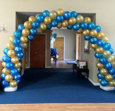 Balloon design and decor, centerpieces etc. Ballon Arch, Balloon Columns, 21st Birthday, Birthday Parties, Tamil Wedding, Graduation Invitations, Balloon Decorations, Spiral, Balloons