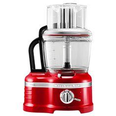 KitchenAid Artisan Empire Red 4L Food Processor-color black