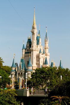 Cinderella's Castle: Disney World
