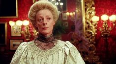 "BEST SUPPORTING ACTRESS NOMINEE: Maggie Smith for ""A Room With A View""."