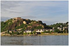 KOBLENZ (GERMANY): The present Ehrenbreitstein fortifications were built by the Prussians between 1817 and 1828.