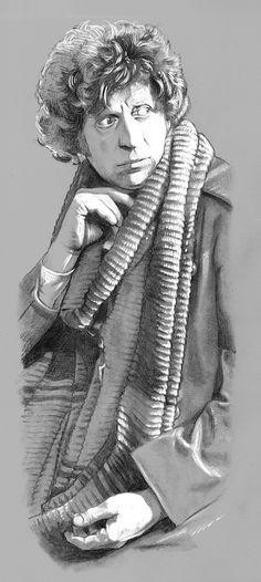Tom Baker by Girl-on-the-Moon.deviantart.com on @deviantART