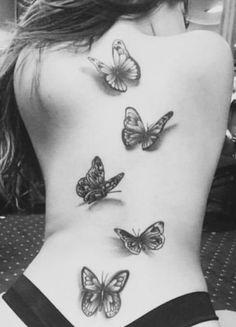 Tummy Tuck Tattoo, Spinal Tattoo, Thigh Tattoos, Tummy Tucks, Beautiful Tattoos, Tattoos For Women, Tatting, Christmas Ideas, Tattoo Designs