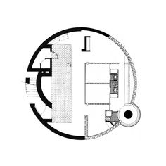 """archiveofaffinities: """" PLAN FOR A HOUSE IN THE FORM OF A CIRCLE """""""