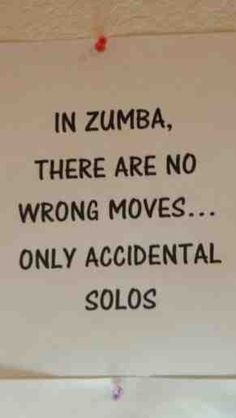Zumba, I do quite a few of these. :)